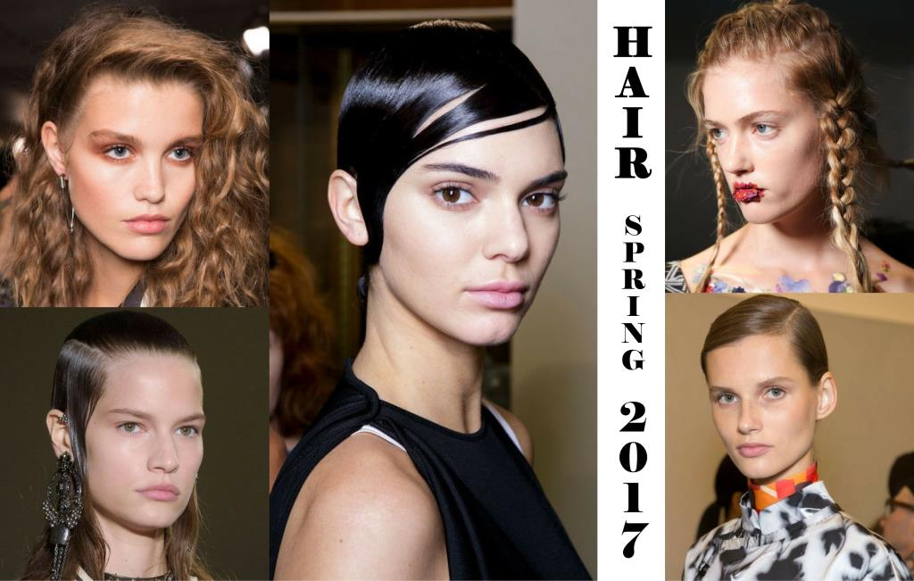 Wet Plaited And Wavy Hair Trends For Spring 2017