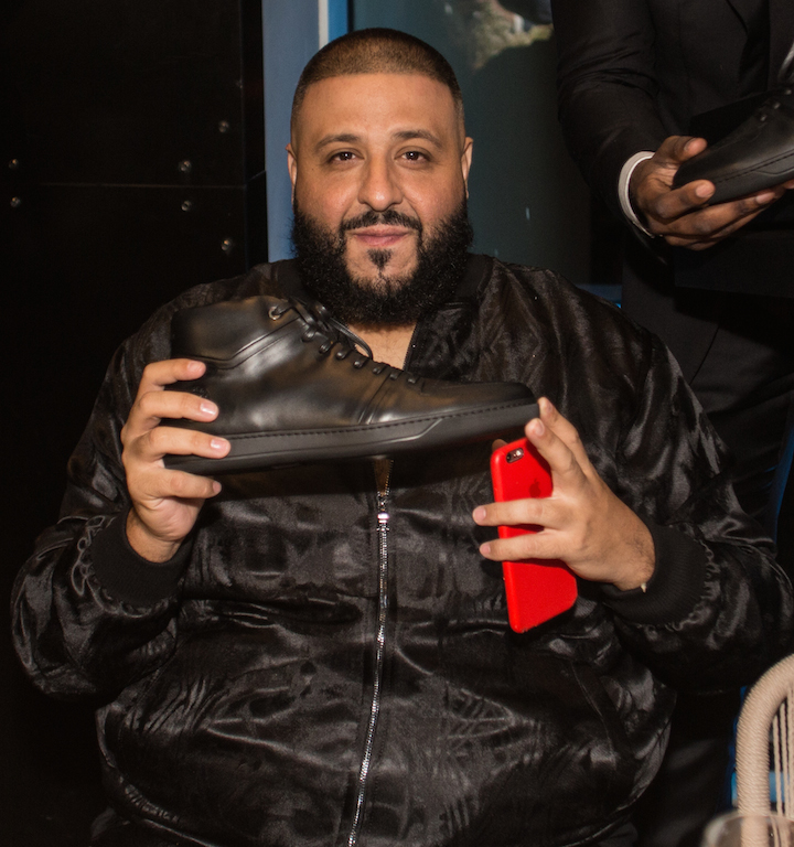 DJ Khaled with Lavati shoes