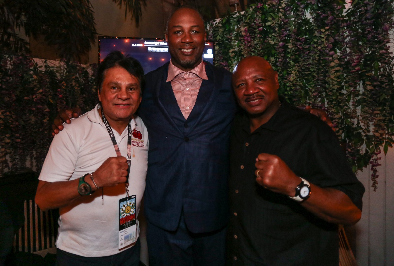 Haute Living and Hublot host an evening with Lennox Lewis all photos by Thaddaeus McAdams / ExclusiveAccess.Net
