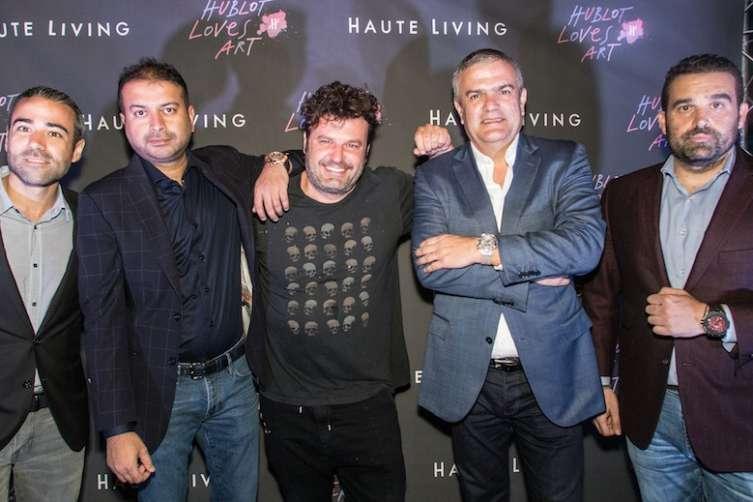 Jean-Francois Sberro, Kamal Hotchandani, Domingo Zapata, Ricardo Guadalupe and Seth Semilof