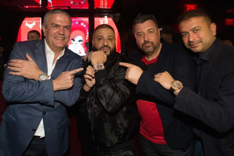 Ricardo Guadalupe, DJ Khaled, Rick De La Croix and Kamal Hotchandani