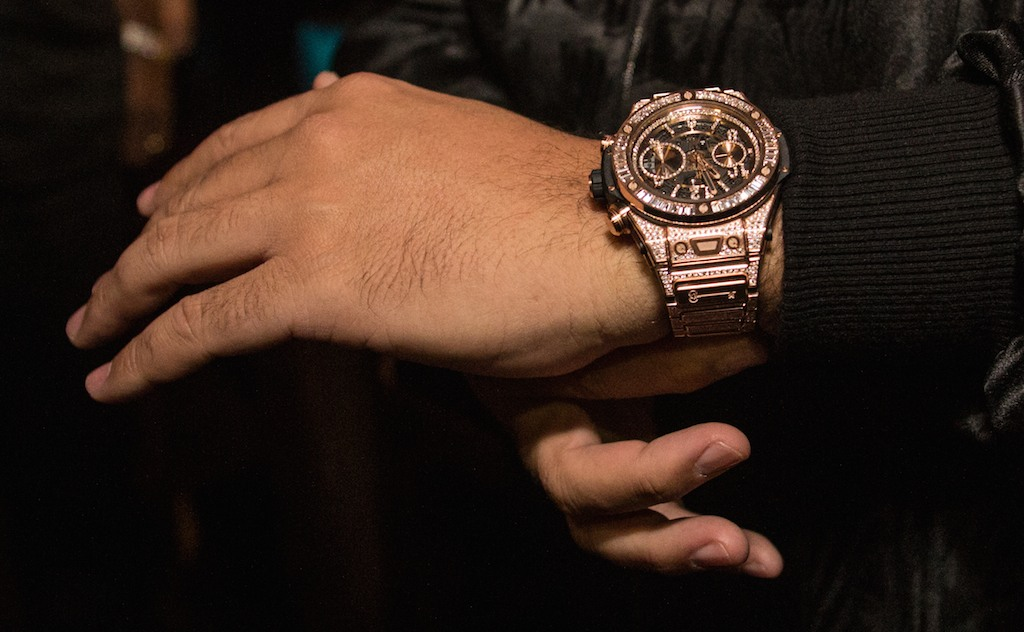dj khaled hublot birthday timepiece