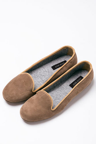Jessie Black Caitlin Cashmere Lined Slippers $190