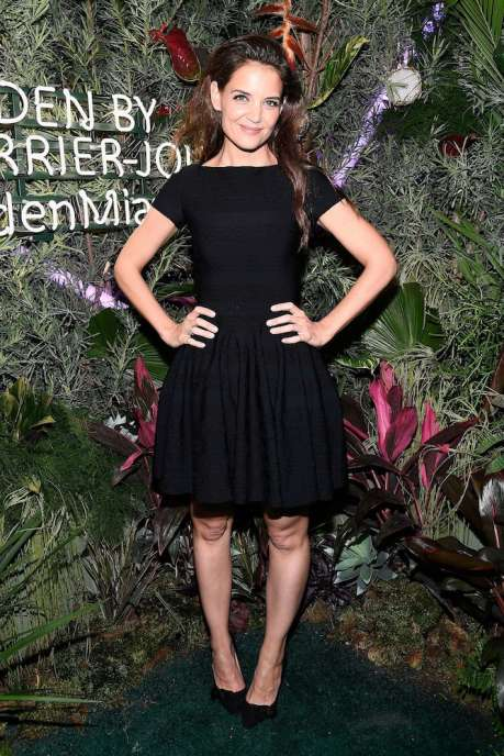 MIAMI BEACH, FL - NOVEMBER 29: Actress Katie Holmes attends the L'Eden By Perrier-Jouet opening night in partnership with Vanity Fair at Casa Claridge's on November 29, 2016 in Miami Beach, Florida. (Photo by Frazer Harrison/Getty Images for Perrier-Jouet)