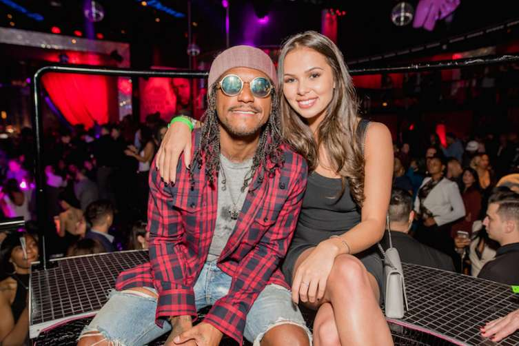 Lloyd at Drai's Nightclub.