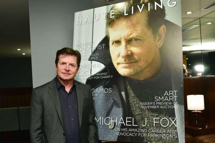 Haute Living Celebrates Michael J. Fox  Cover with Hublot & JetSmarter