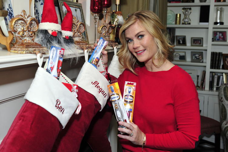 Alison Sweeney gets into the holiday spirit