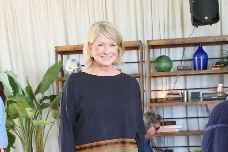 Martha Stewart at the Soho Tent for Brett Ratner's Hilhaven