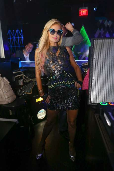Paris Hilton at Wall after