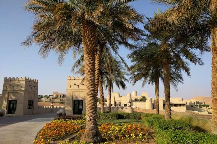 Qasr al Sarab trees