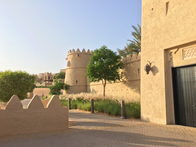 Qsar al Sarab resort exterior moorish architecture