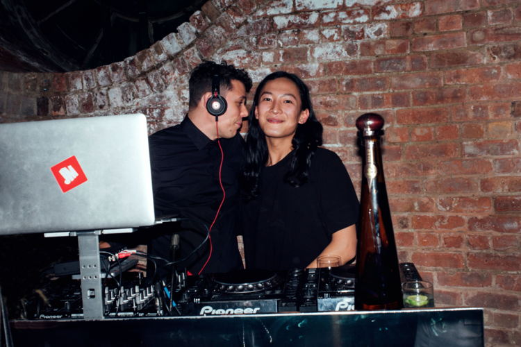REDJ Jesse Marco and Alexander Wang attend Alexander Wang X Beats by Dre with Specialty Drinks by Don Julio in New York City