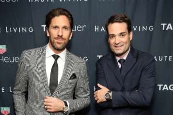 Haute Living Celebrates New York Cover Launch With Henrik Lundqvist And TAG Heuer At Mr. Chow