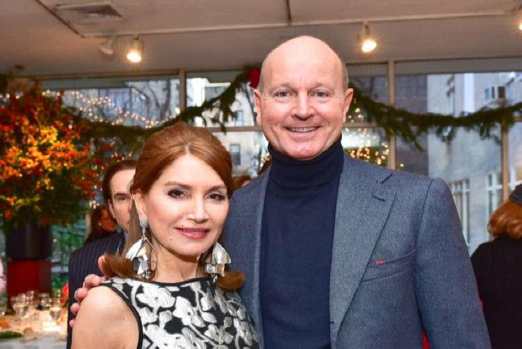 Jean Shafiroff, Prince Dimitri of Yugoslavia== Jean Shafiroff Hosts Holiday Party== Michael's Restaurant, NY== December 15, 2016== ©Patrick McMullan== Photo - Sean Zanni/PMC== ==