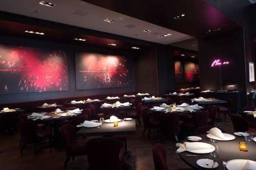 The interior of Cut by Wolfgang Puck