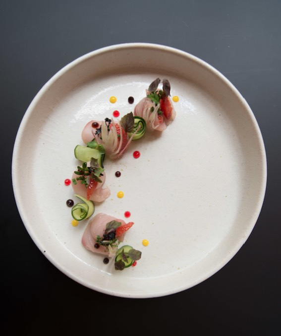 Cut by Wolfgang Puck plate