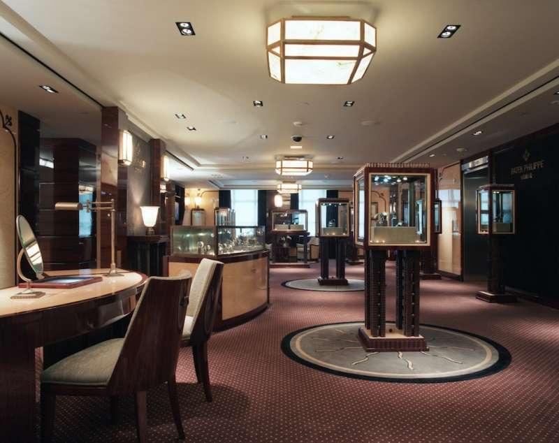 The Patek Philippe Salon at Tiffany & Co.