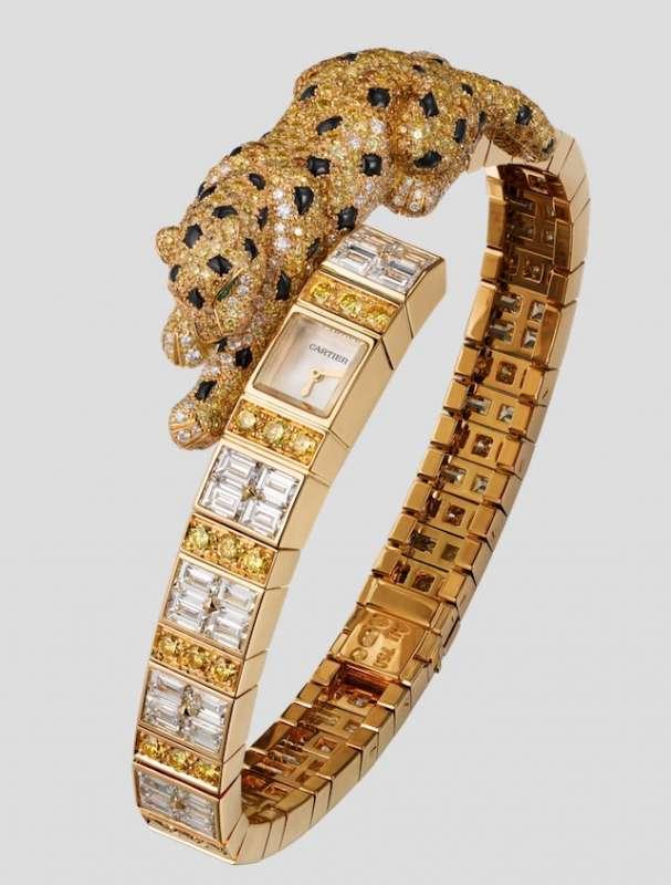 Cartier Magicien High Jewelry Panthère Asymétrique