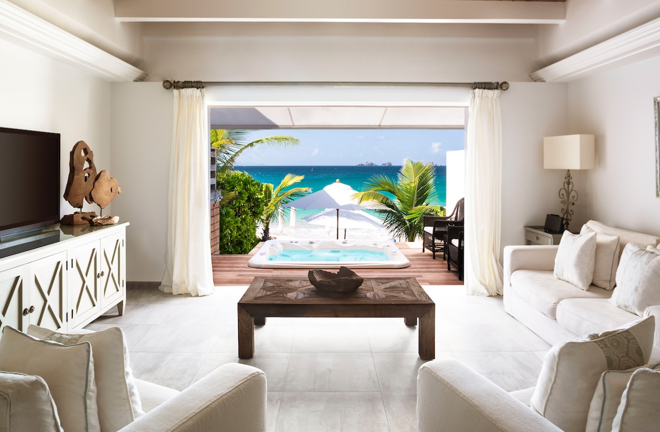 St. Barth Cheval Blanc suite