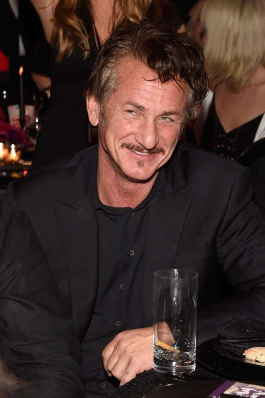 MIAMI BEACH, FL - DECEMBER 02: Actor Sean Penn attends An Evening of Music, Art, Mischief and Performance to benefit Raising Malawi presented by Madonna at Faena Forum on December 2, 2016 in Miami Beach, Florida. (Photo by Kevin Mazur/Getty Images for Bulgari)