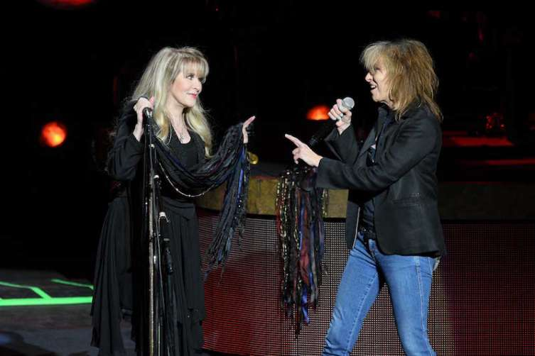 Stevie Nicks and Chrissie Hynde perform at The Park,
