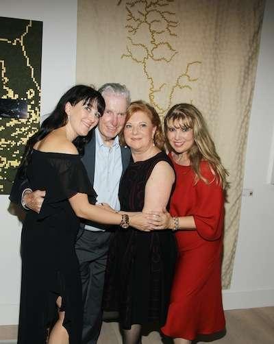 Susanne Birbragher, Mr. Birbragher, Celia Sredni de Birbragher, Francine Birbragher-Rozencwaig