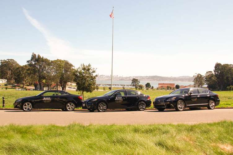 Lexus is the ride of choice at Cavallo Point