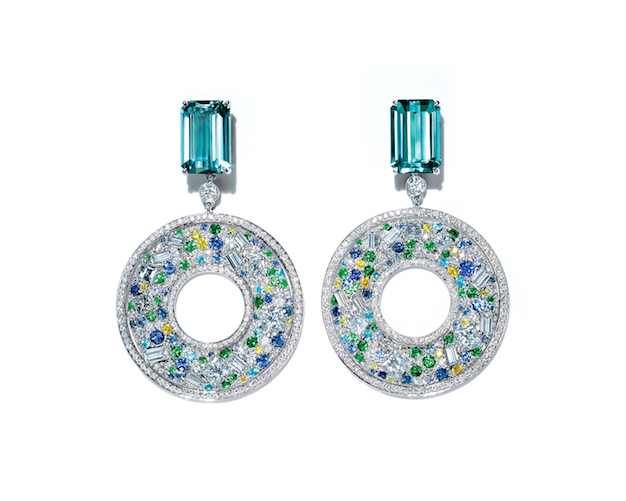 Earrings from the Tiffany Blue Book 2015, The Art of the Sea: $95,000