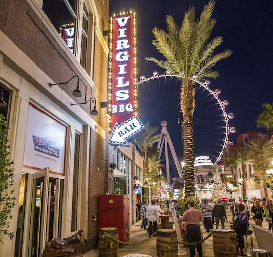 Image result for Virgil's Real Barbecue at The LINQ Promenade