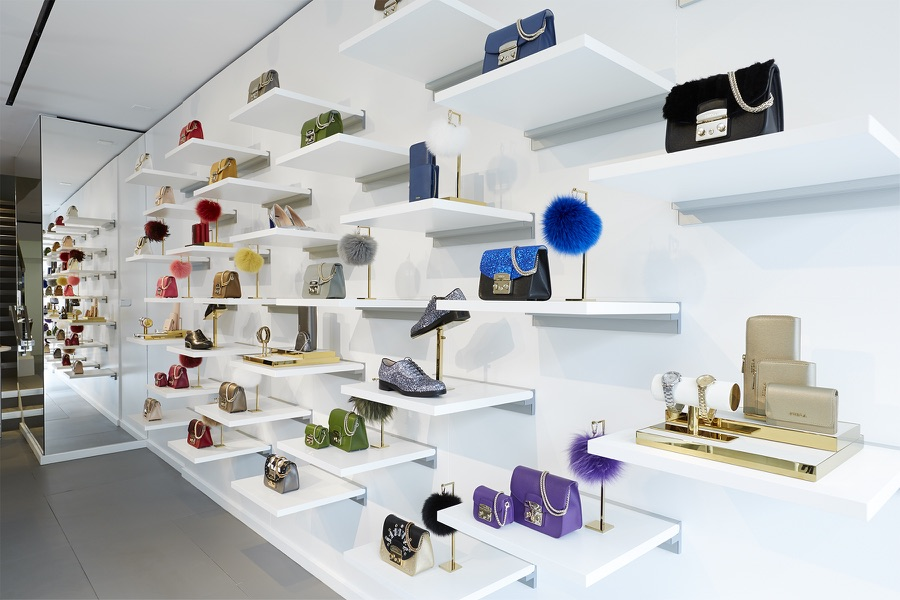 The new Furla boutique in downtown San Francisco