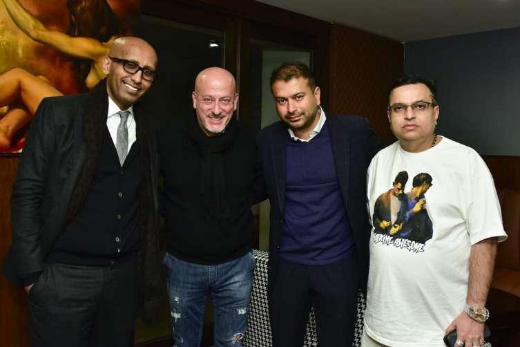 Sahle Ghebreyesus, Domenico Vacca, Kamal Hotchandani, and Mike Kalwani