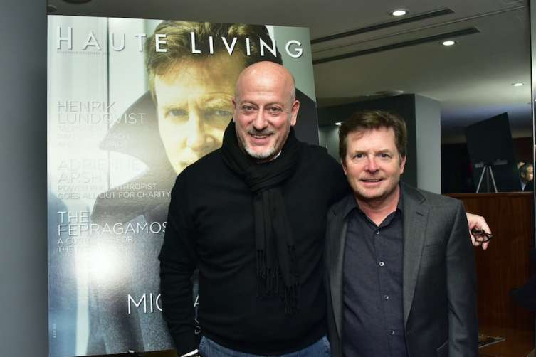 Domenico Vacca and Michael J. Fox