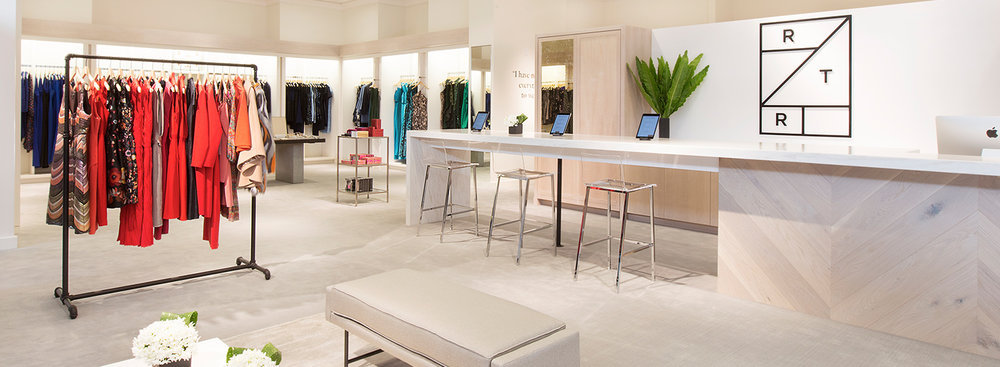 The new Rent the Runway boutique at Neiman Marcus