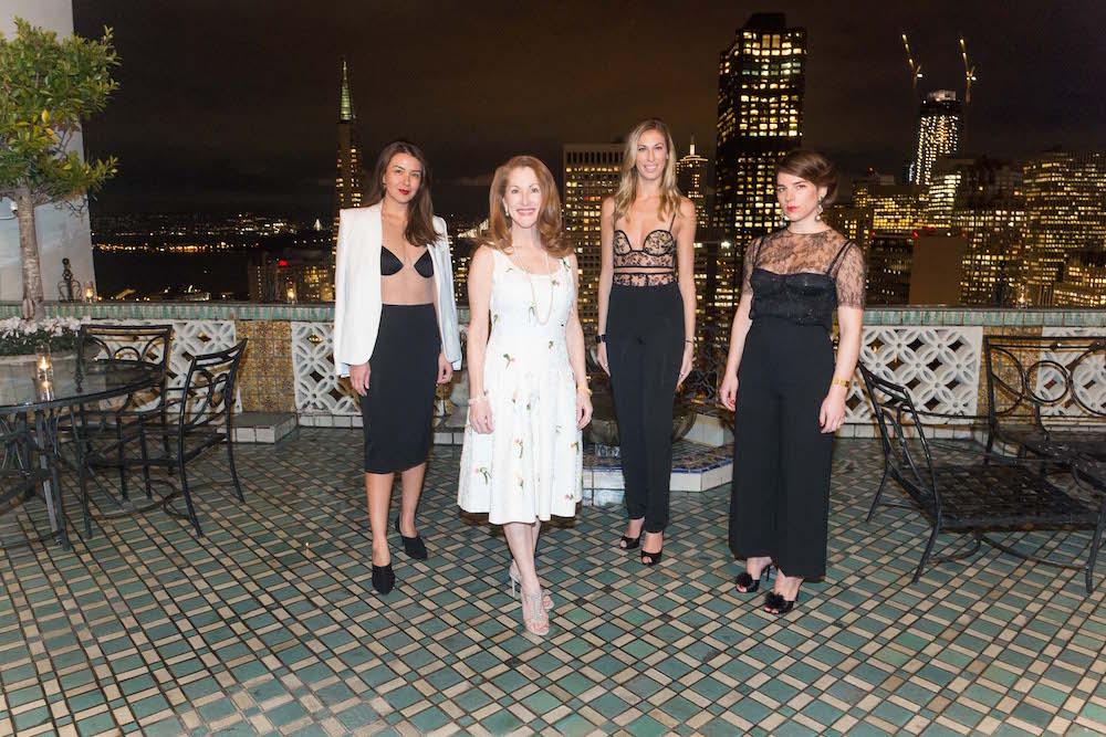 Phoebe Mireles, Avé Seltsam, Victoria Caniano and Jennifer Hodapp