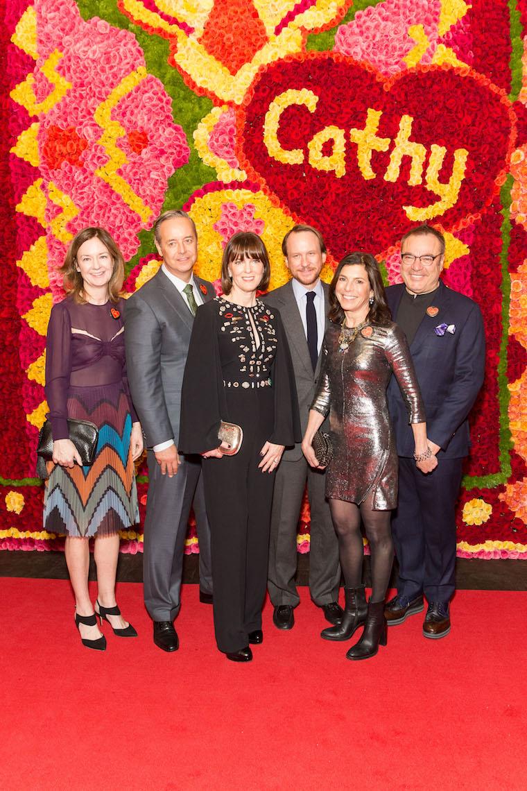 Katie Paige, Douglas Durkin, Allison Speer, Roth Martin, Susan Swig and Stanlee Gatti