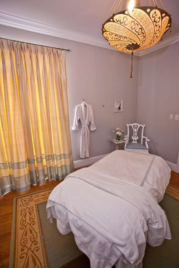 A treatment room