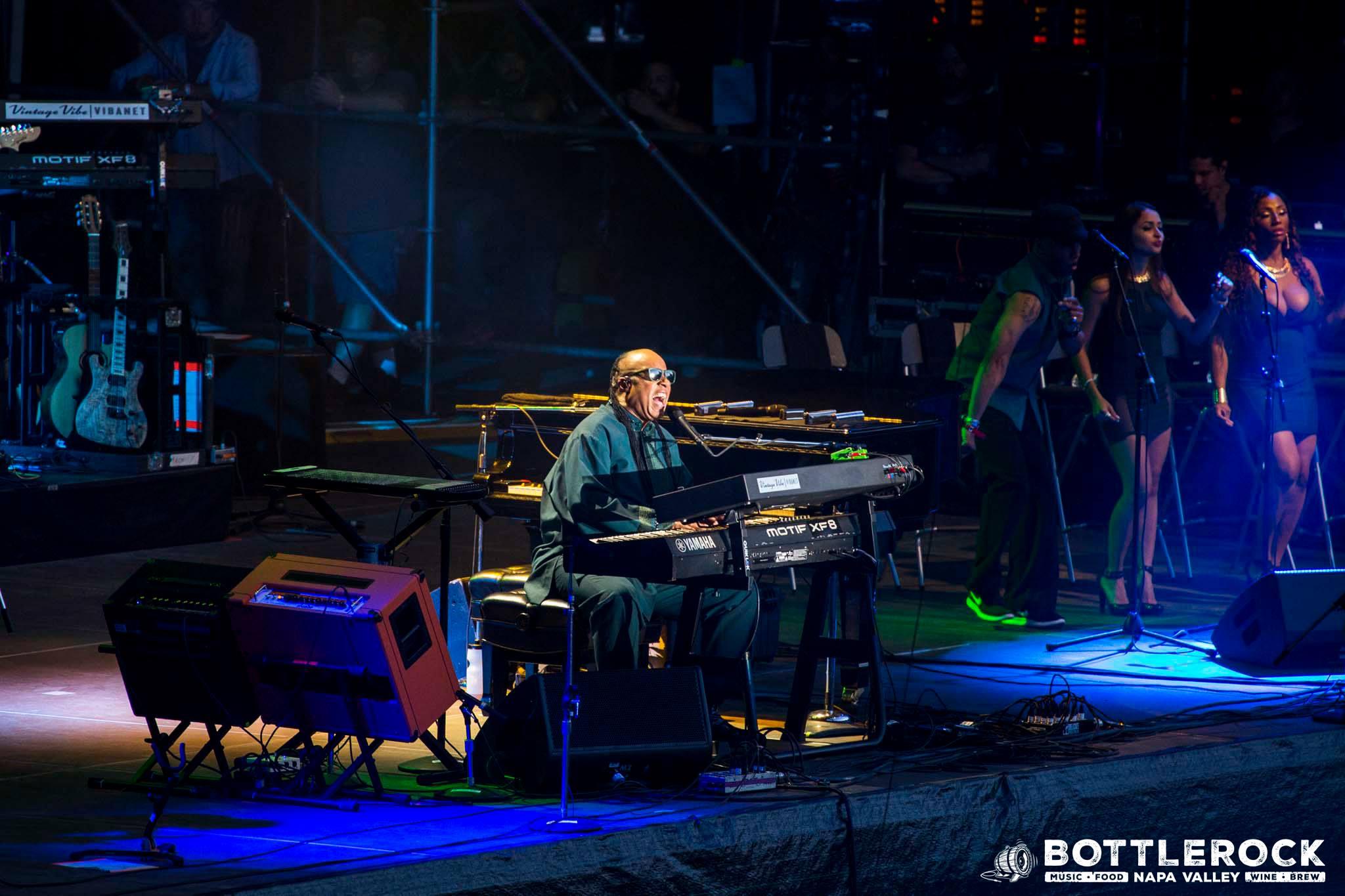 Steve Wonder performs at last year's BottleRock