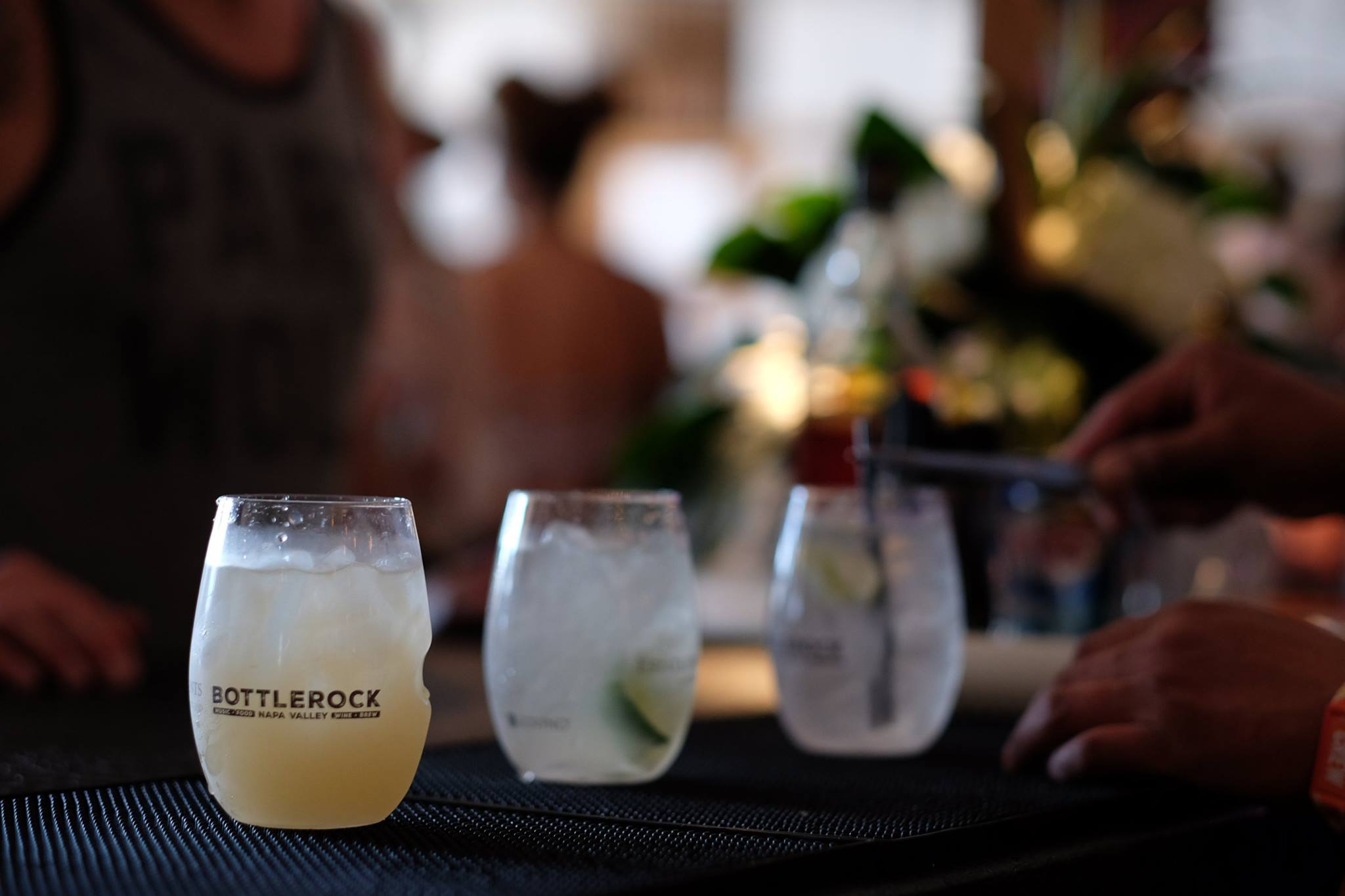 Craft cocktails are part of the culinary lineup at BottleRock