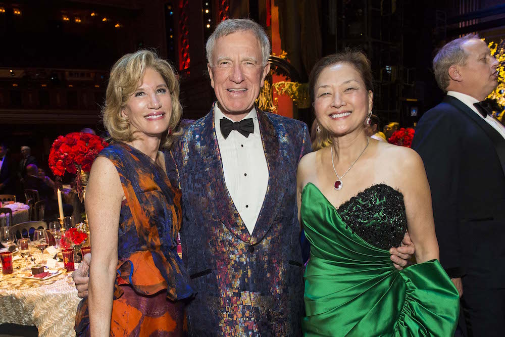 Mary Poland, Bill Poland and Olivia Hsu Decker