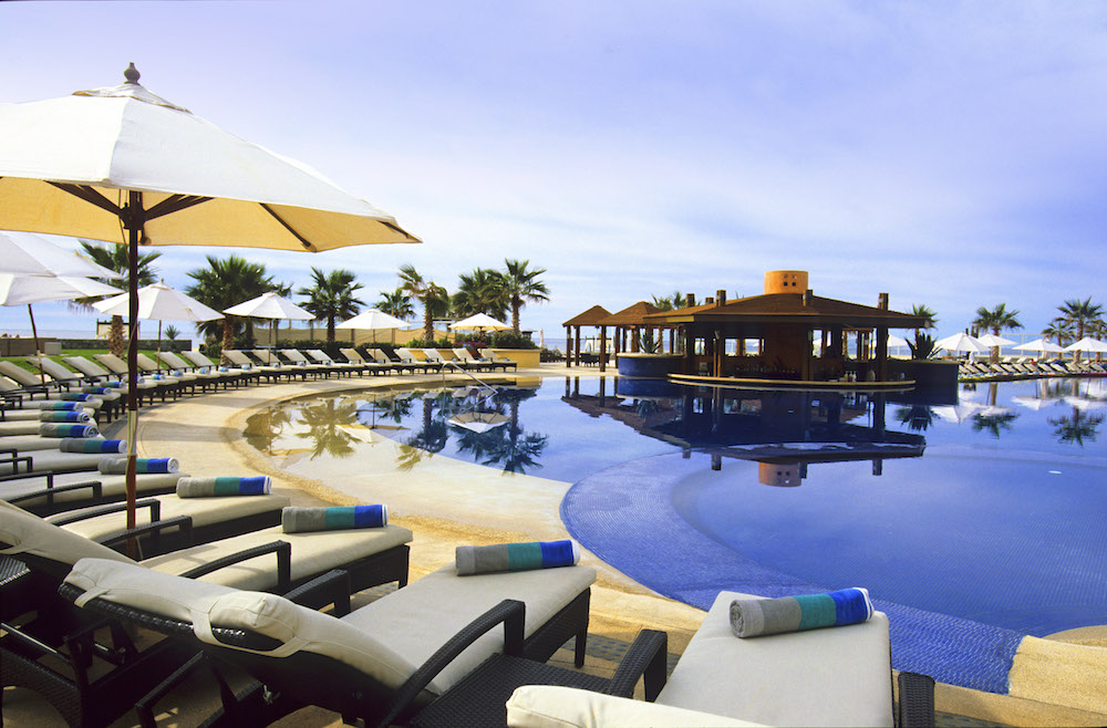 The oceanfront adults-only pool