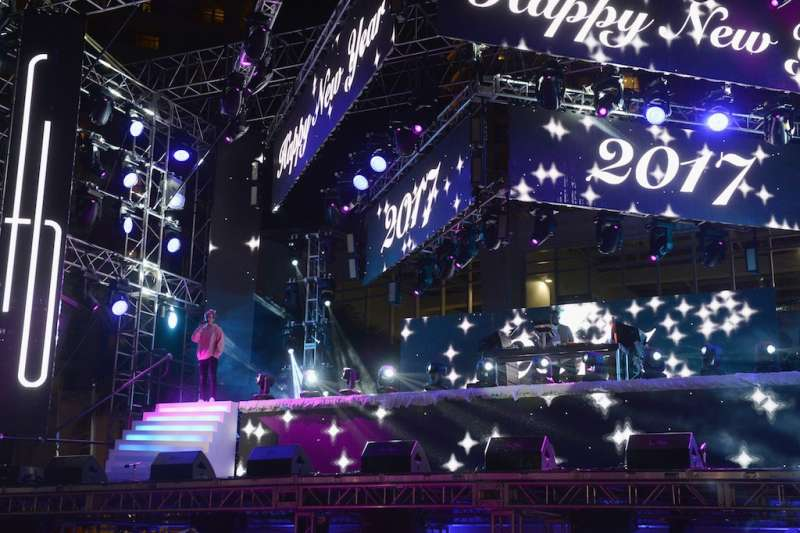 New Year's Eve Celebration at Fontainebleau