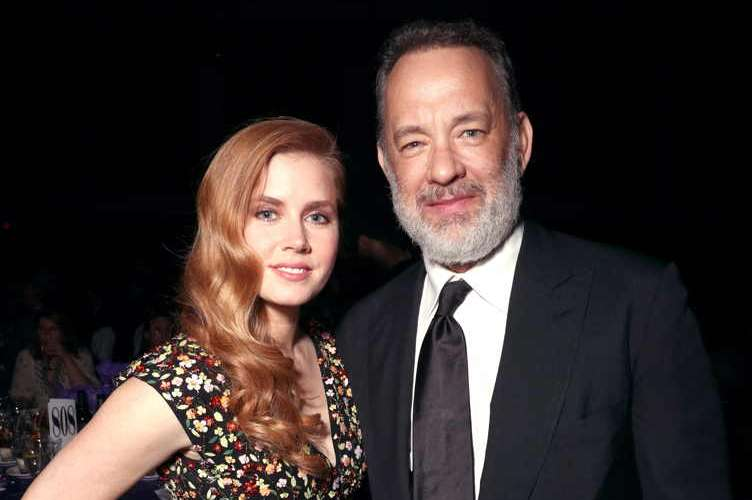 Amy Adams and Tom Hanks attend the 28th Annual Palm Springs International Film Festival Film Awards Gala