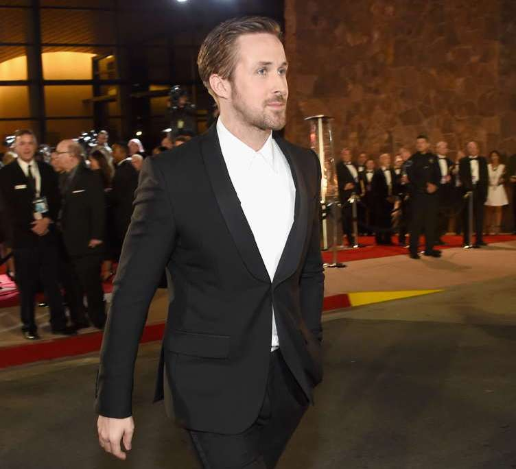 Ryan Gosling attends the 28th Annual Palm Springs International Film Festival Film Awards Gala