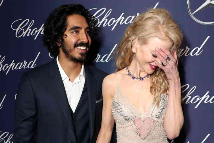 Dev Patel and Nicole Kidman attend the 28th Annual Palm Springs International Film Festival Film Awards Gala