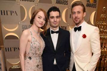 Moet & Chandon At The 74th Annual Golden Globe Awards – Backstage