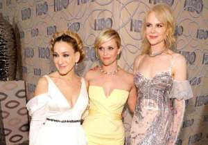 (L-R) Actresses Sarah Jessica Parker, Reese Witherspoon and Nicole Kidman attend HBO's Official Golden Globe Awards After Party at Circa 55 Restaurant