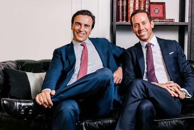 Abel Matutes Prats y Manuel Campos Guallar