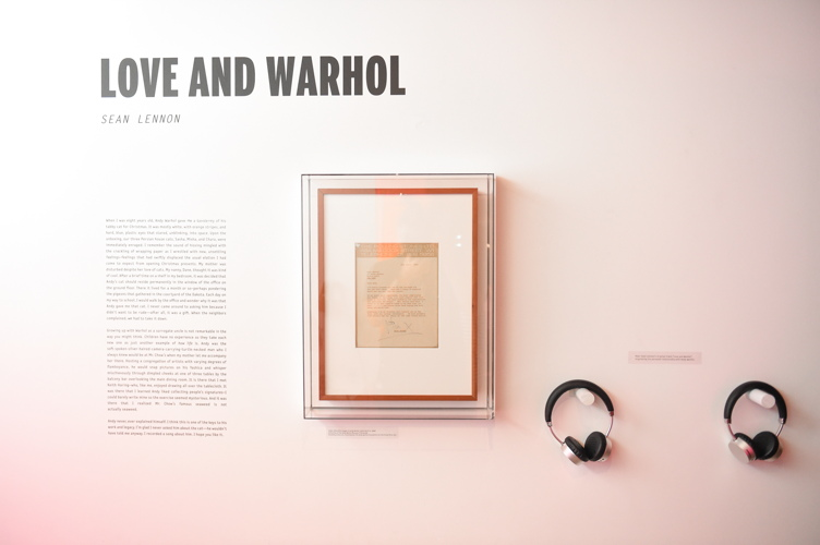 Letters to Andy Warhol LA 9