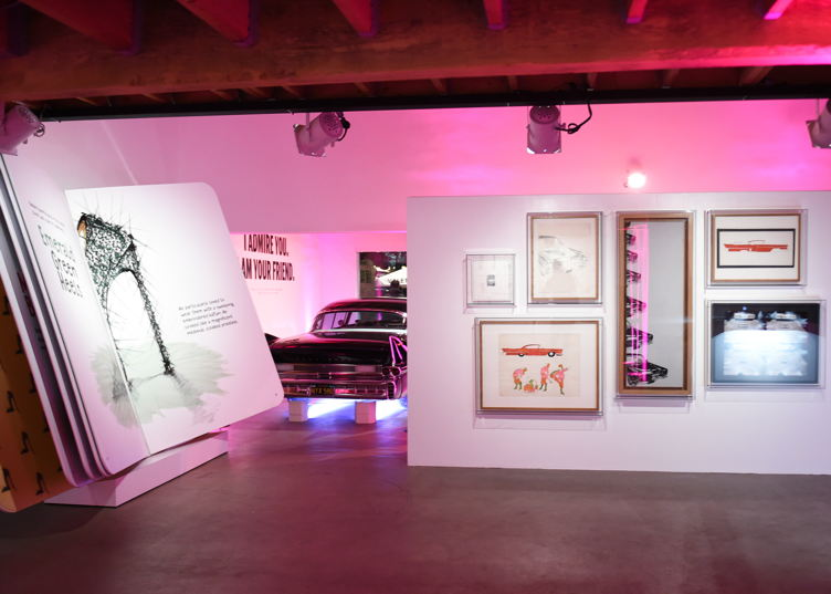 Cadillac and The Andy Warhol Museum celebrate the Los Angeles opening of the Letters to Andy Warhol exhibition