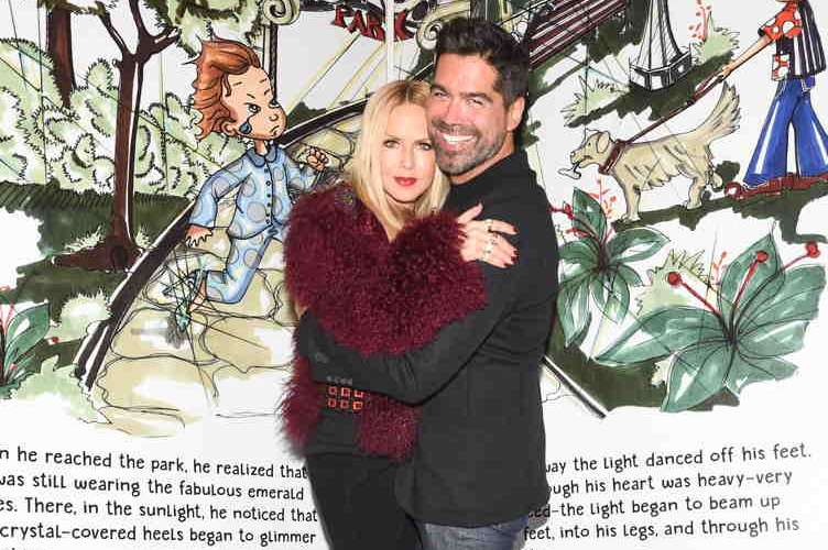 Rachel Zoe and Brian Atwood